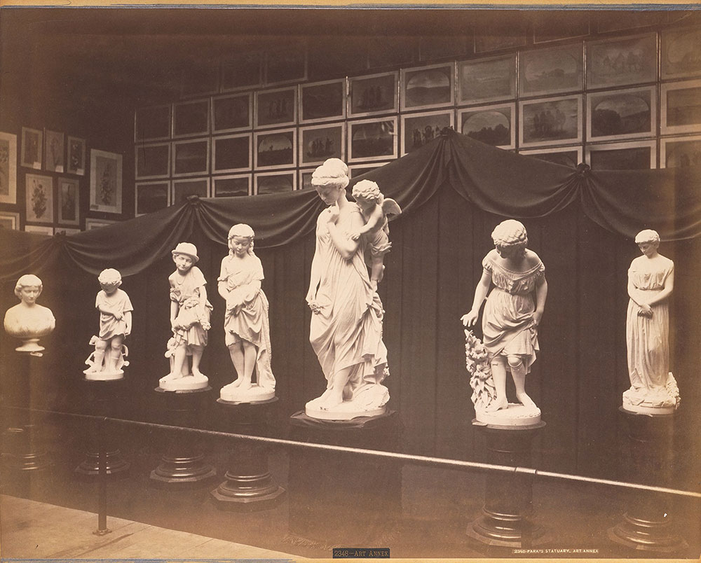Park's statuary-Art Annex