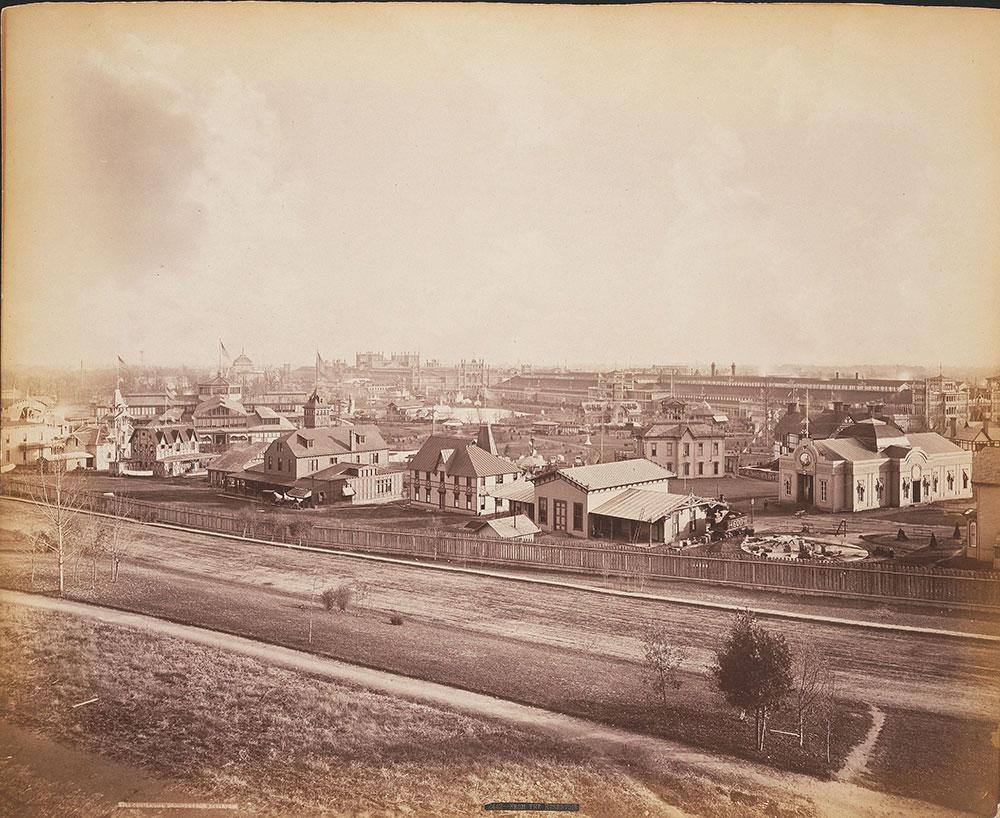 Centennial grounds, from reservoir