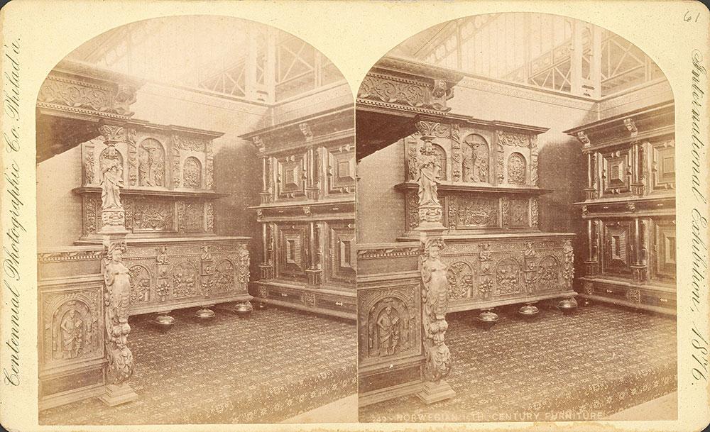 Norwegian 15th century furniture