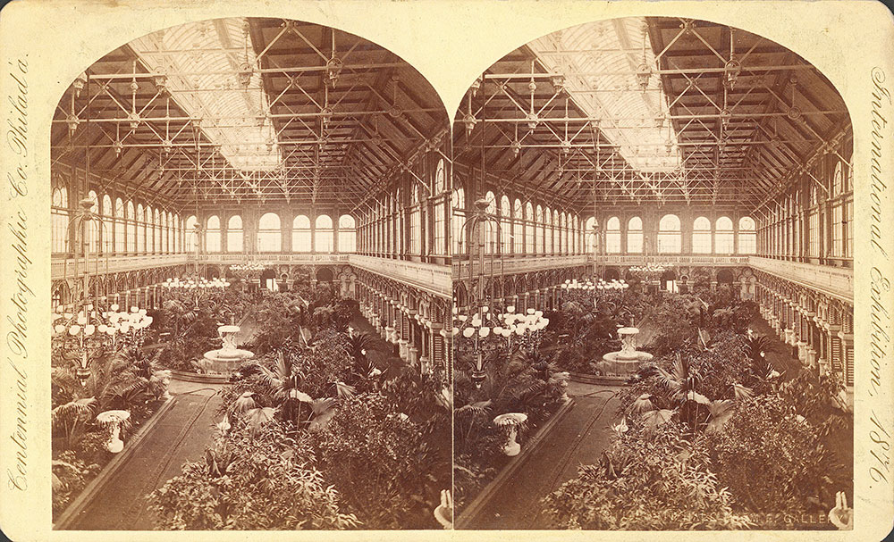 Horticultural Hall, from gallery
