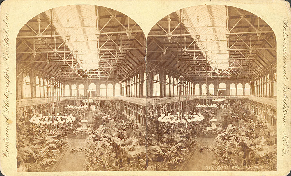 Horticultural Hall, from west end