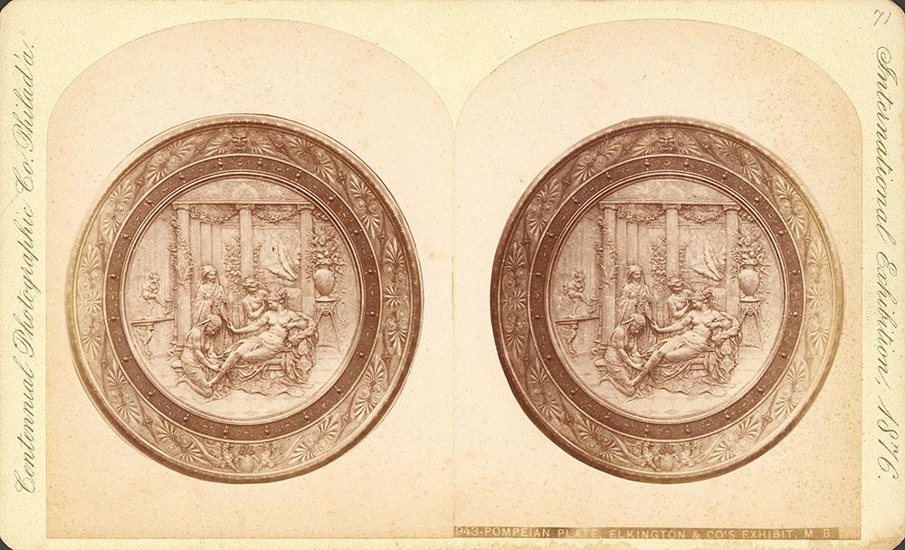 Pompeian plate-Elkington & Co.'s ex.-Main Building
