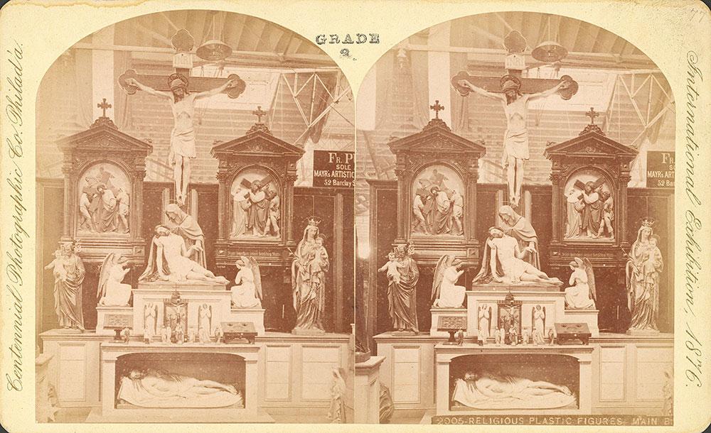 Religious plastic figures-Main Building