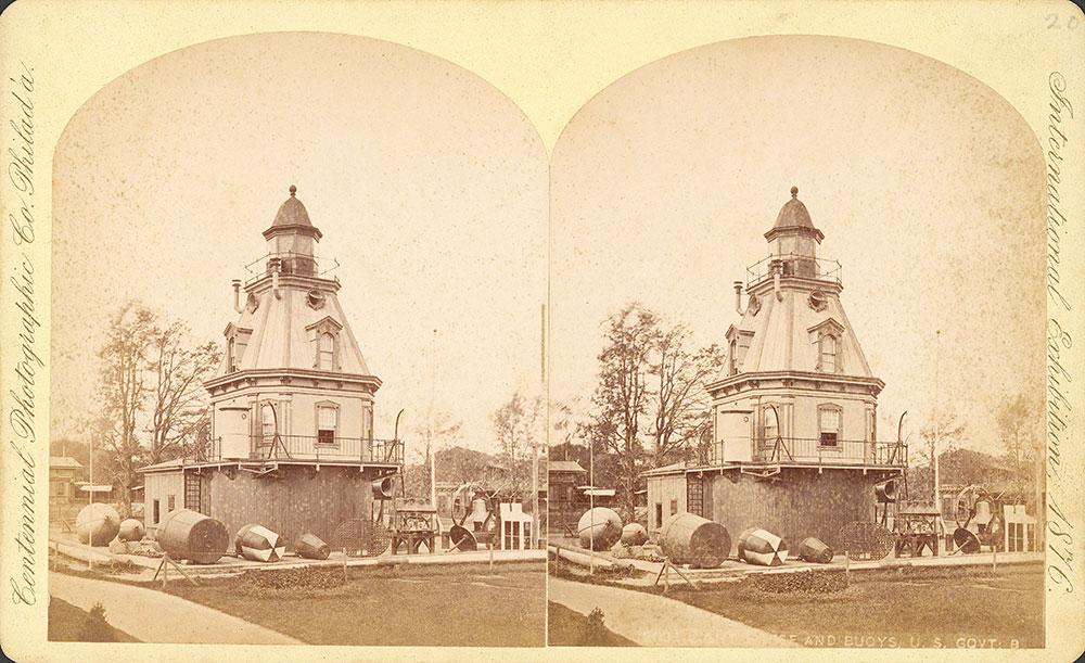 Lighthouse and buoys