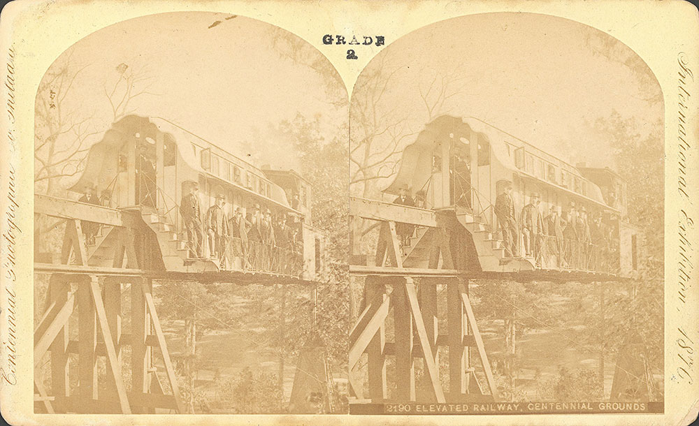 Elevated railway-Centennial grounds