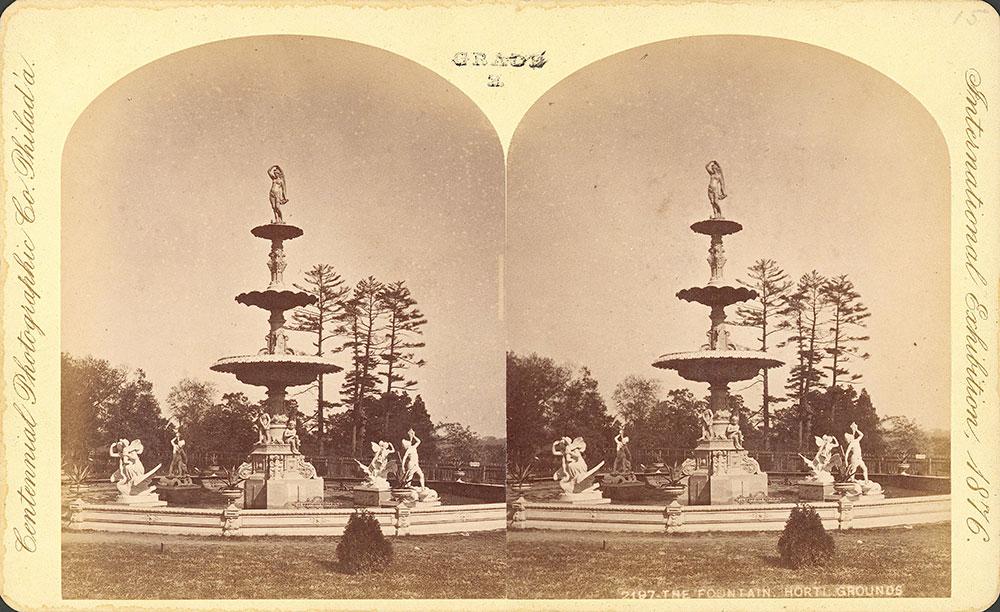Mott Fountain-Horticultural grounds