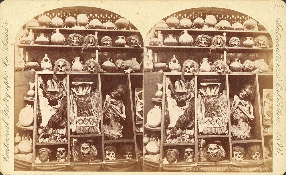 Peruvian mummies and pottery