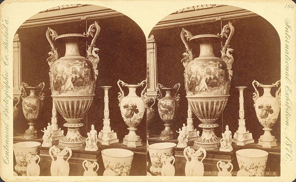 Porcelain ware--Austria [sic] section, Main Build.