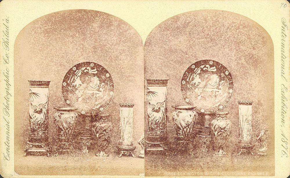 Elkington & Co.'s cloisonne enamels