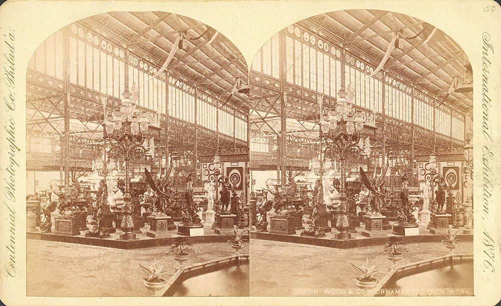 R. Wood & Co.'s ornamental iron work