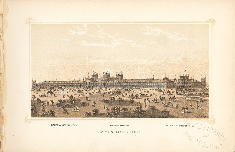 Main Exhibition Hall Lithograph
