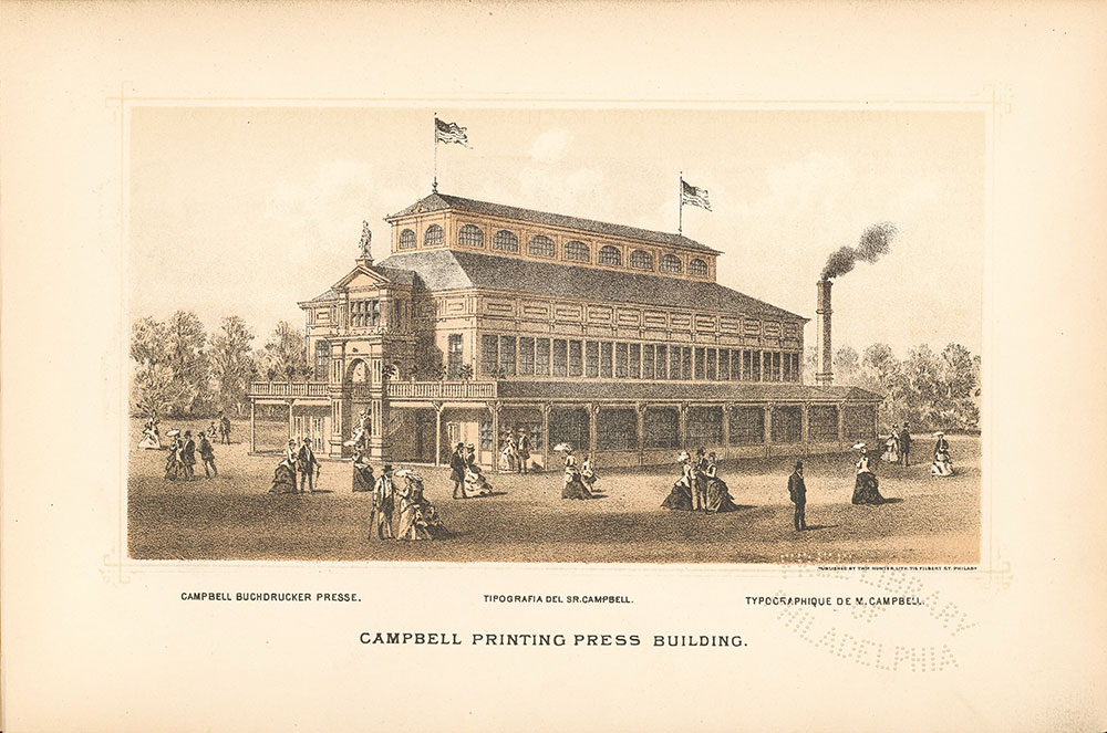 Campbell Printing Press Building