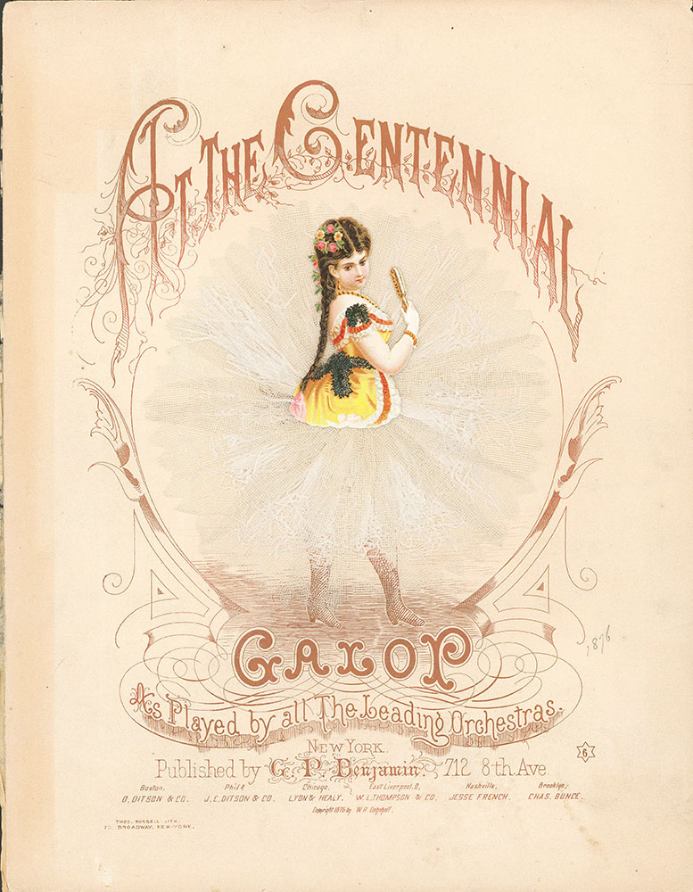 At the Centennial galop-cover