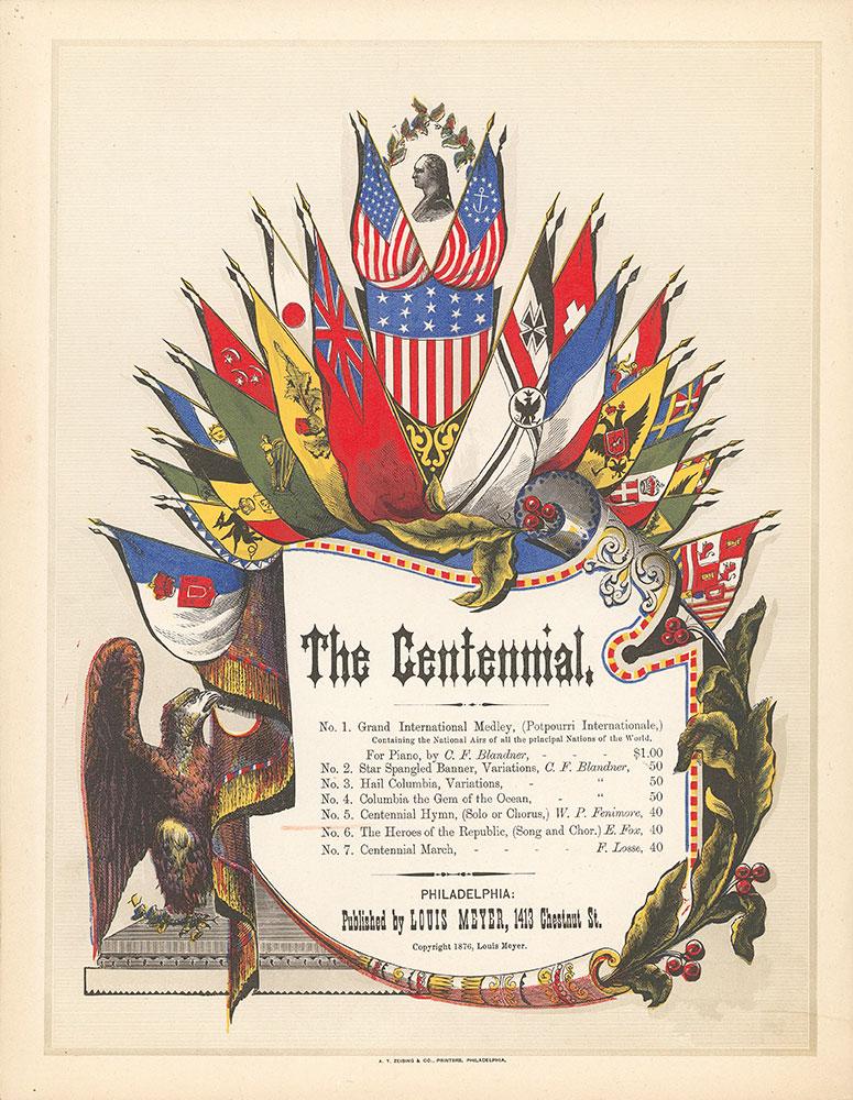 Centennial hymn-cover