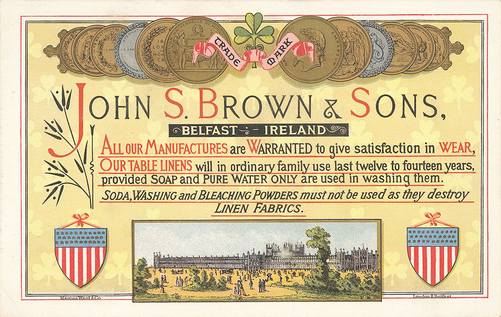 John S. Brown & Sons, Belfast, Ireland
