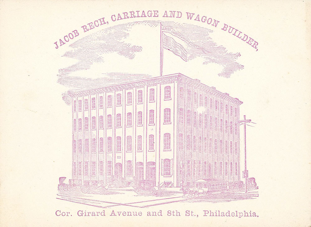 Jacob Rech, carriage and wagon builder