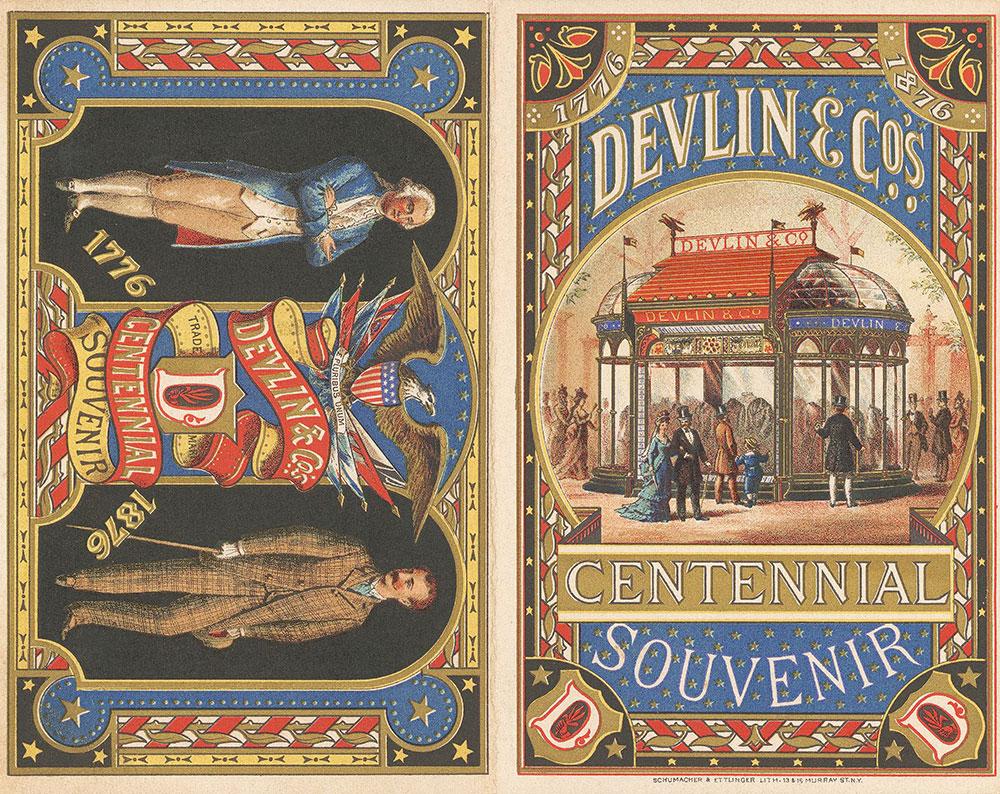 Devlin & Co.'s centennial souvenir