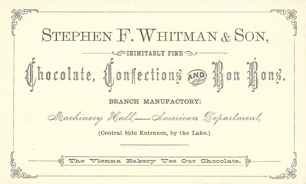 Stephen F. Whitman & Son