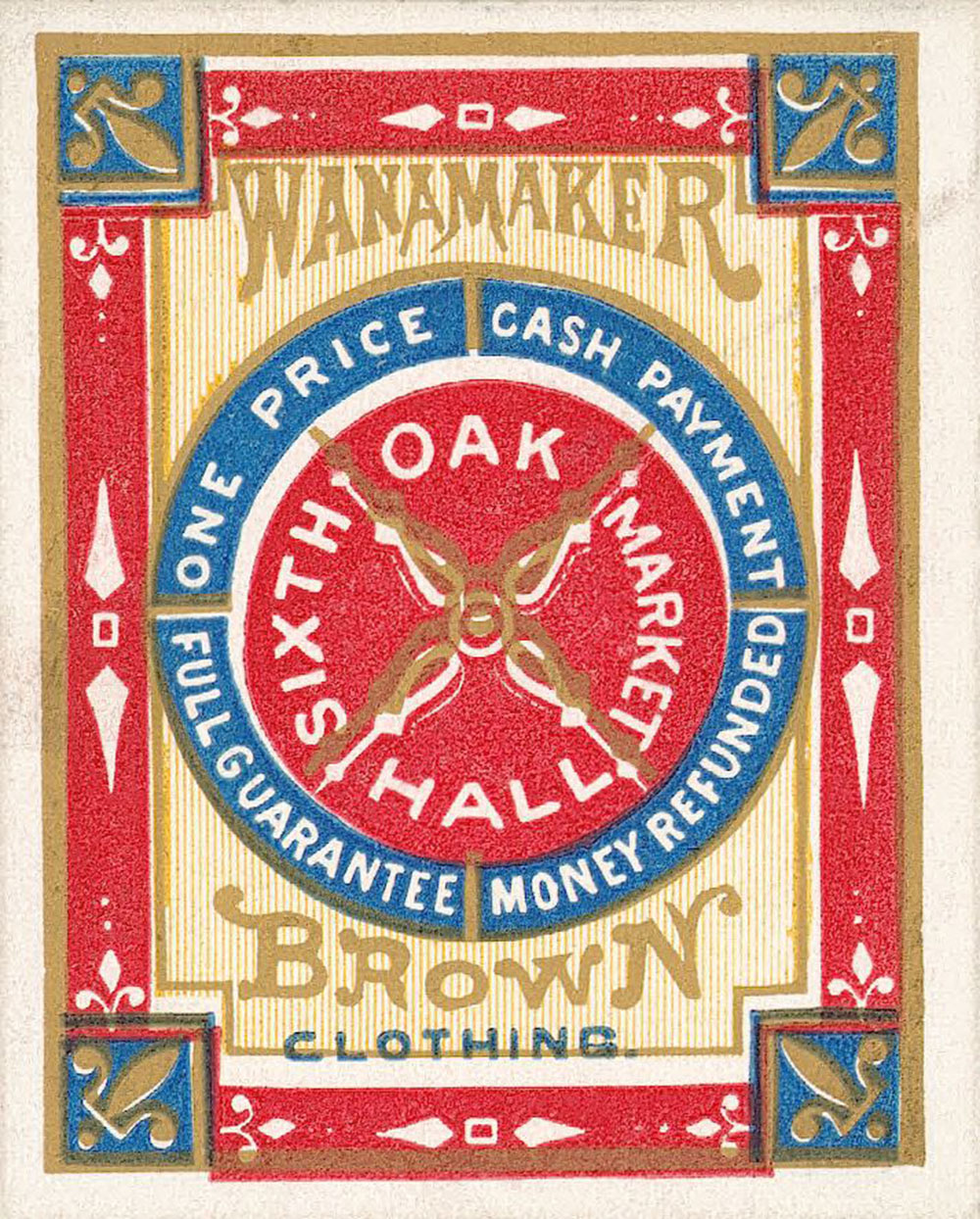 Wanamaker Brown clothing