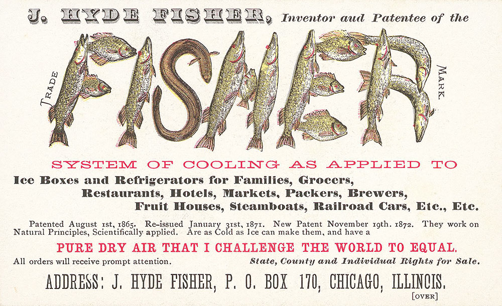 J. Hyde Fisher, inventor and patentee of the Fi...