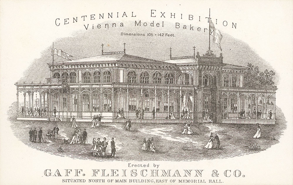 Centennial exhibition Vienna model baker