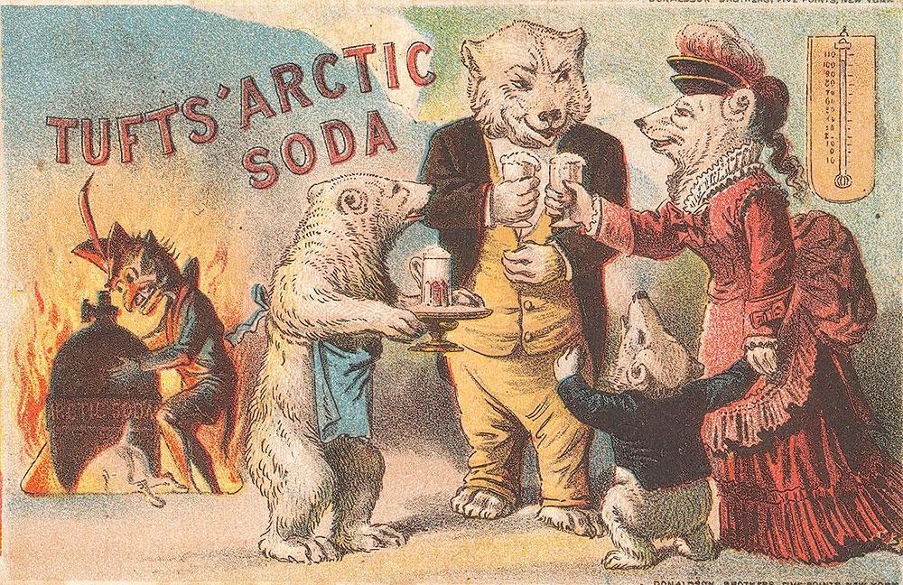 Tufts' Arctic soda