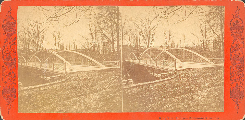 King Iron Bridge--Centennial grounds