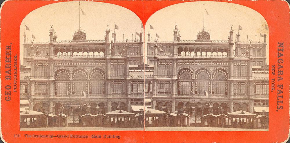 The Centennial--Grand Entrance--Main Building