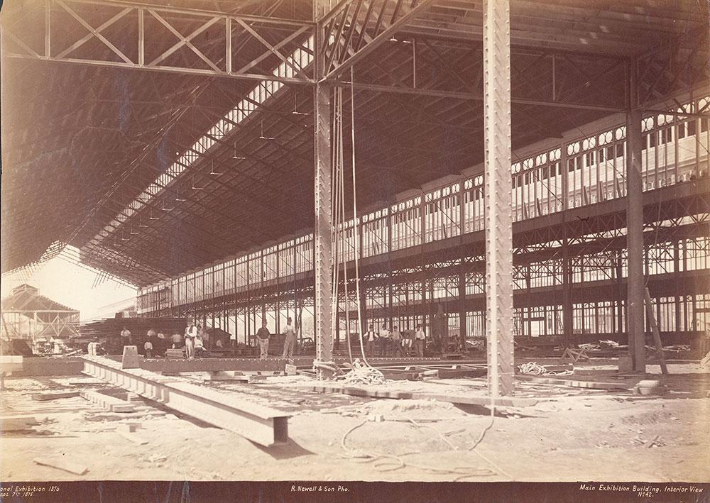 Main Exhibition Building, interior view