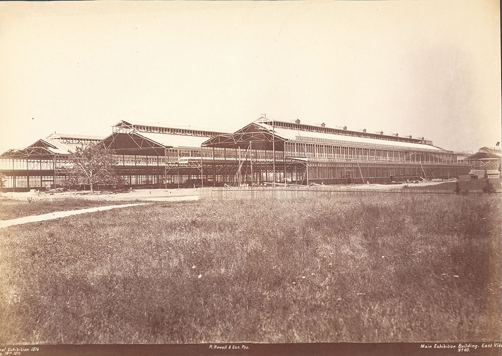 Main Exhibition Building, east view
