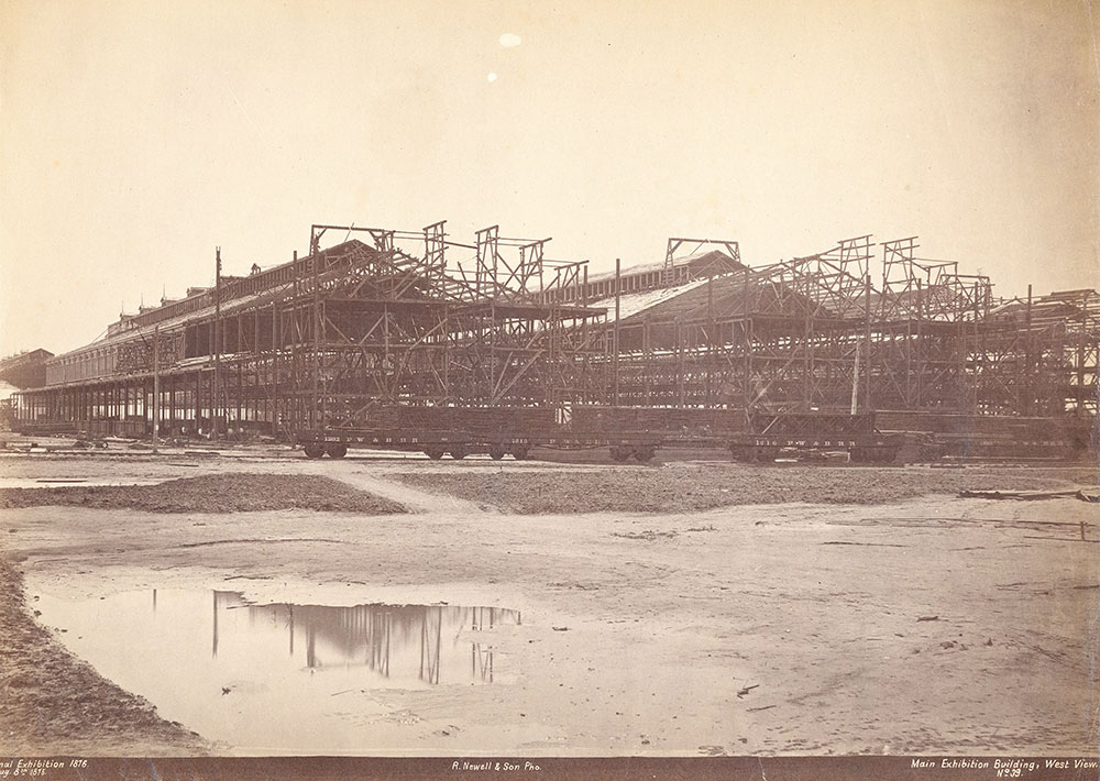 Main Exhibition Building, west view