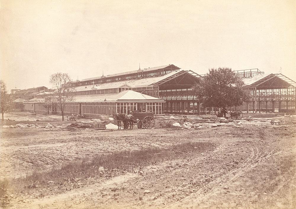 Machinery Hall construction