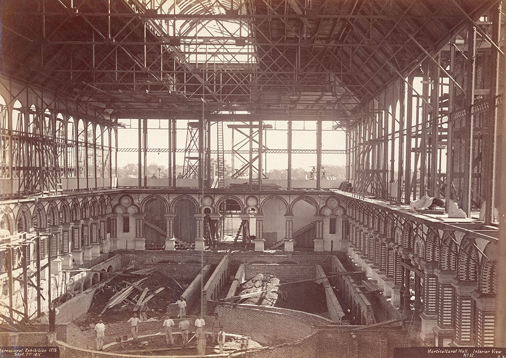 Horticultural Hall, interior view