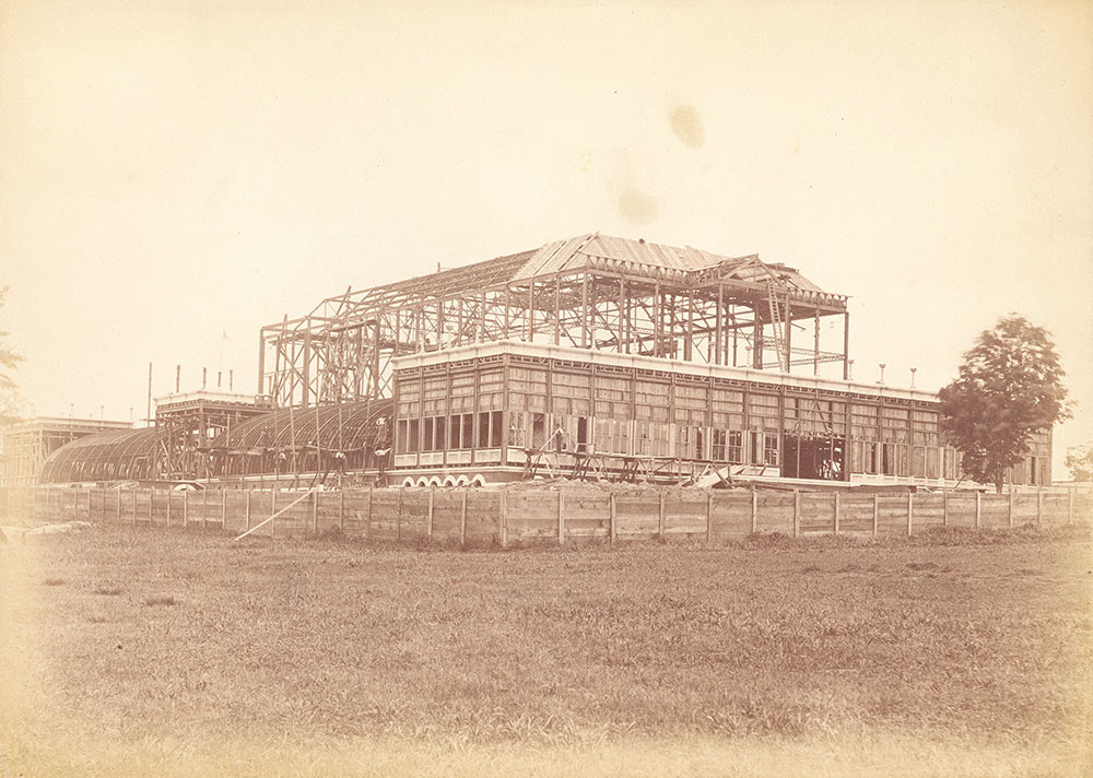 Horticultural Hall construction