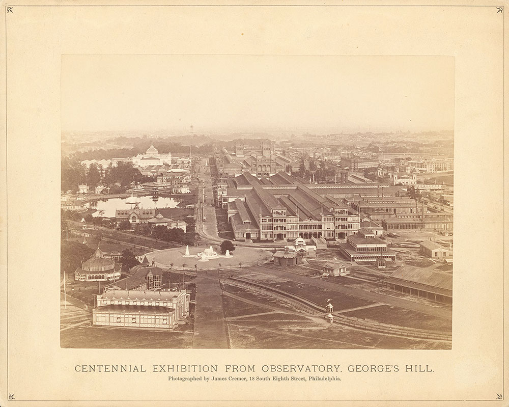 Centennial Exhibition from Observatory, George's..