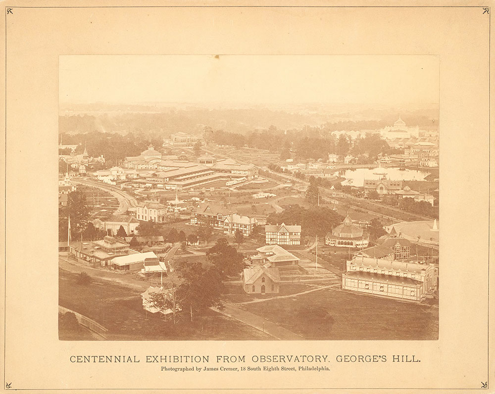 [Centennial Exhibition from Observatory, Georg...