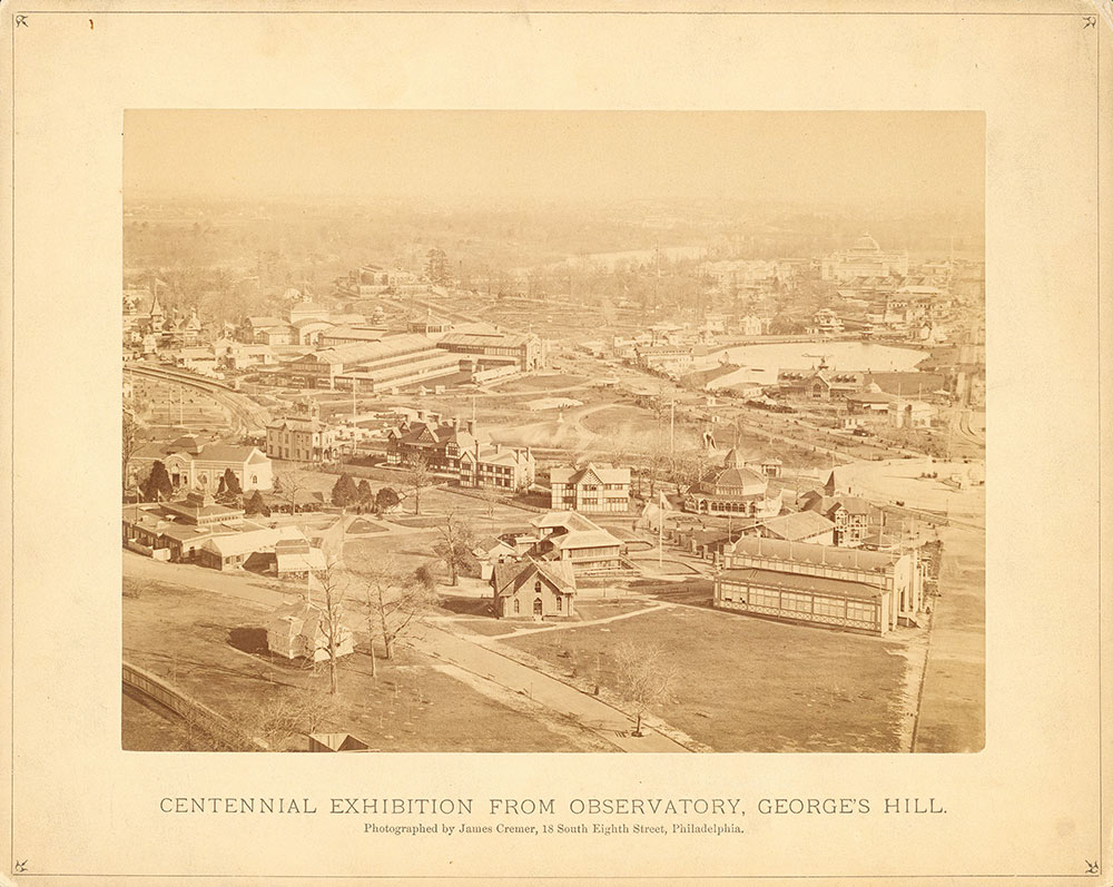 [Centennial Exhibition from Observatory, George...