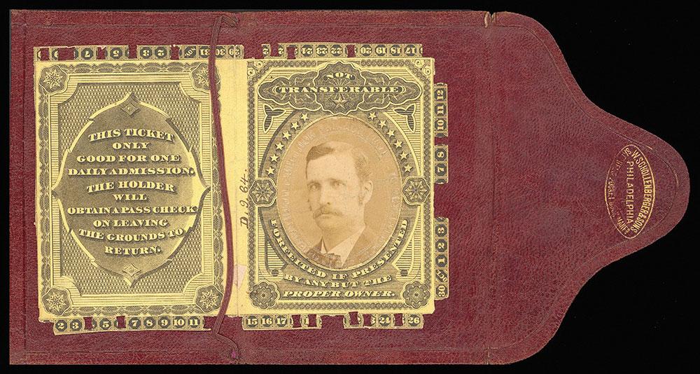 [Season Centennial pass issued to H.W. Alexande...
