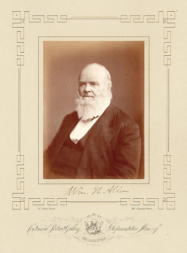 Portrait of William Henry Allen