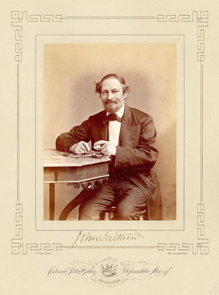 Portrait of John Sartain