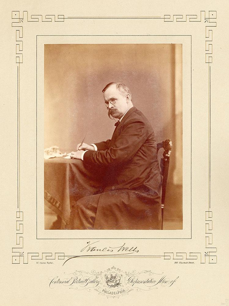 Portrait of Francis Wells