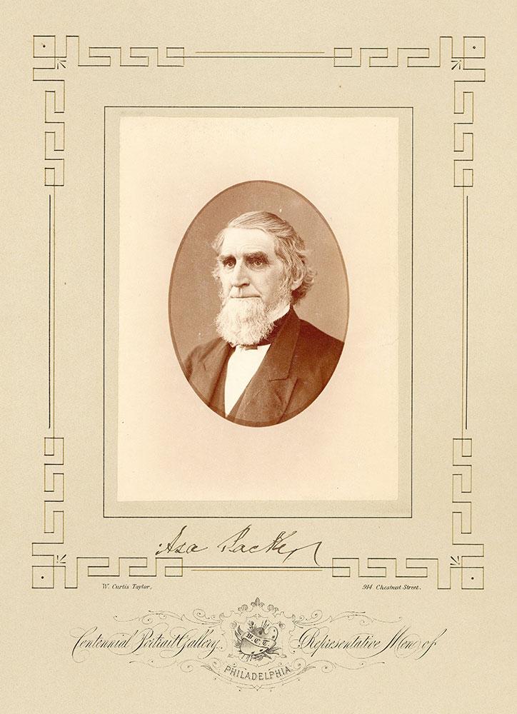 Portrait of Asa Packer