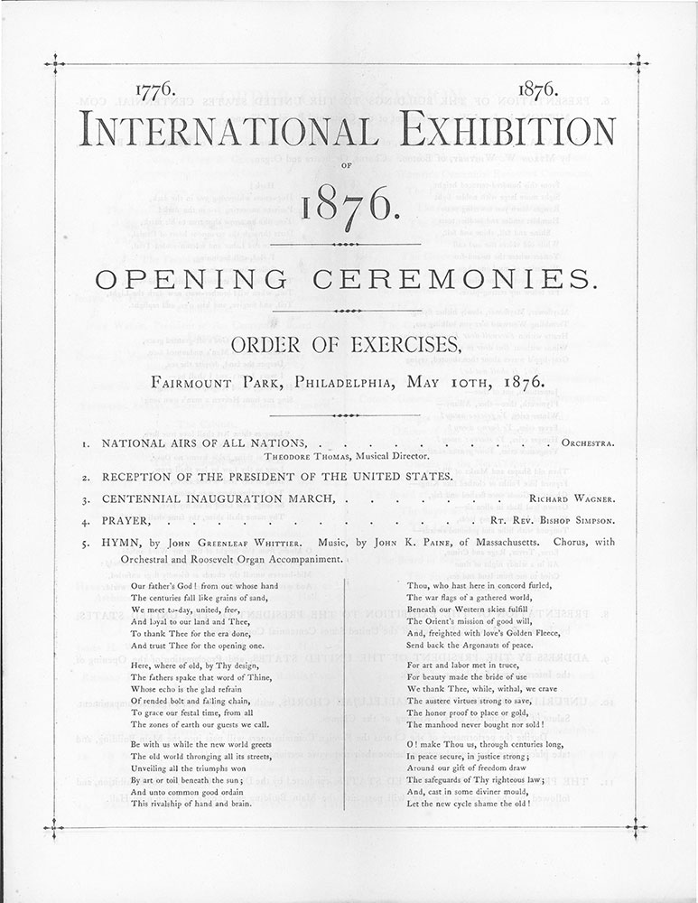 Centennial Exhibition 1876 Philadelphia Scrapbook