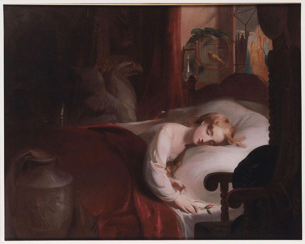 Little Nell Asleep