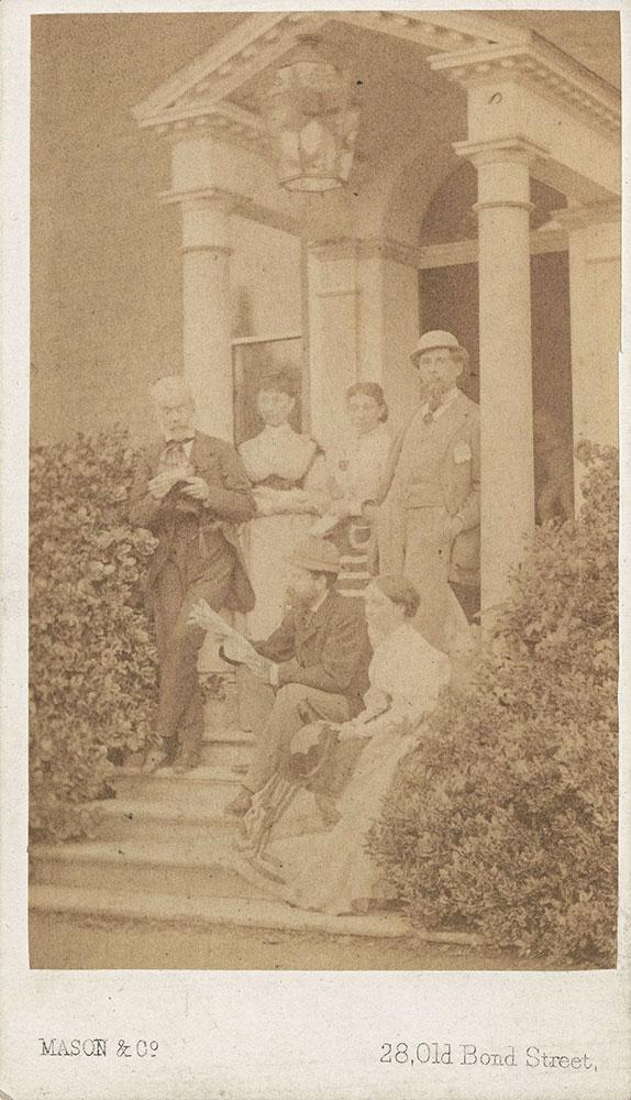 Dickens Family Carte De Visite