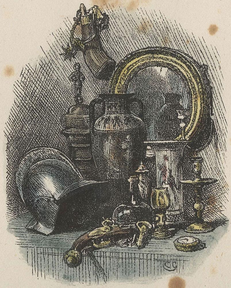 Illustrations to Old Curiosity Shop--Title illustration