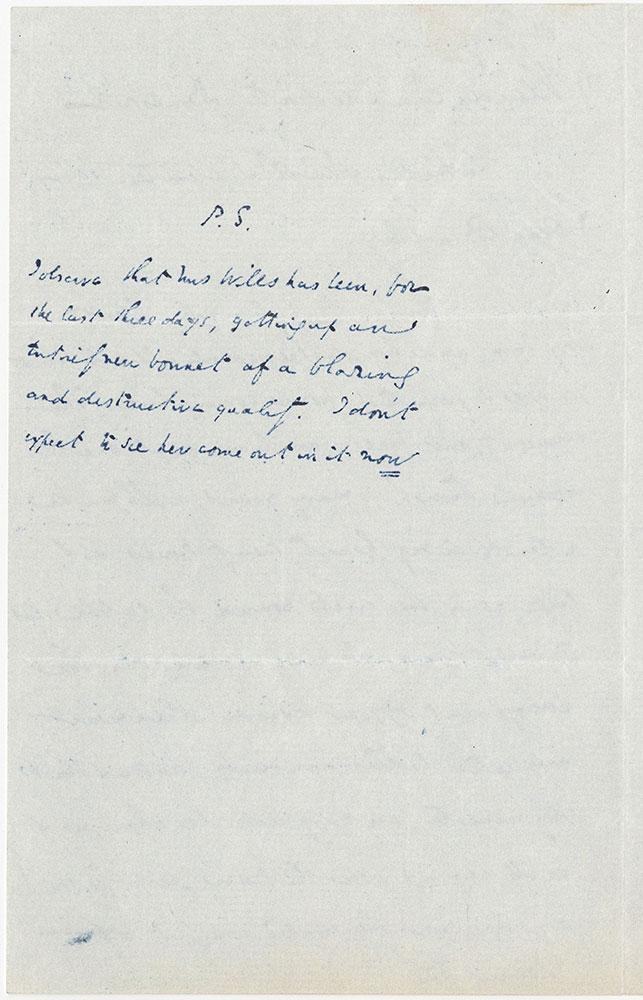 ALs to William Bradbury