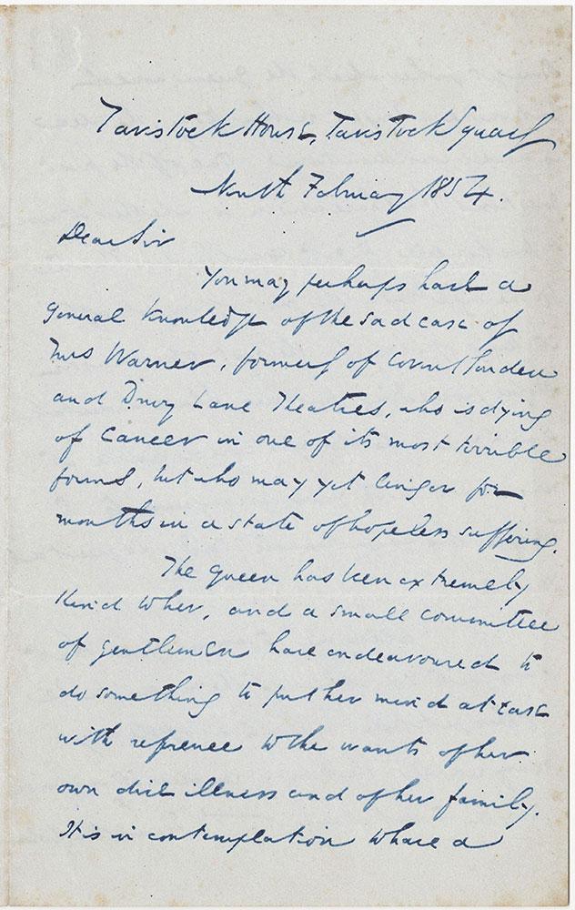 ALs to Frederick Gye