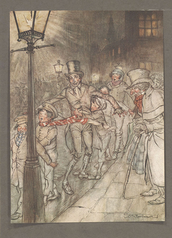 SHELLEY: Arthur rackham christmas cards