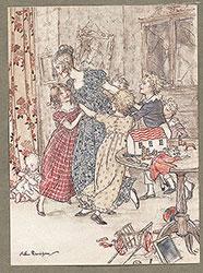 A Christmas Carol illustrated by Arthur Rackham
